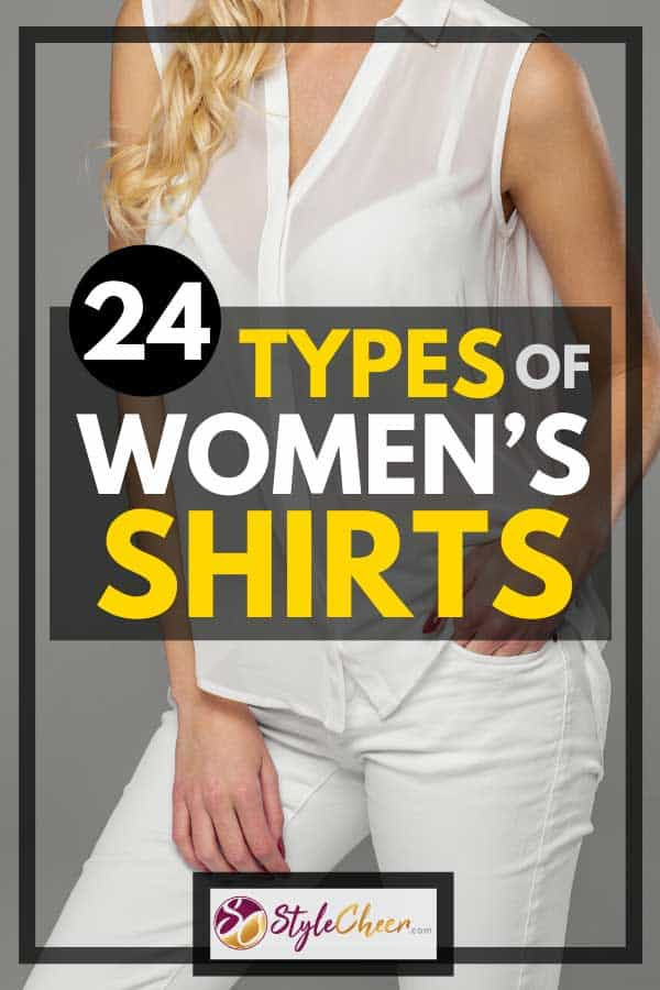 24 Types of Women's Shirts