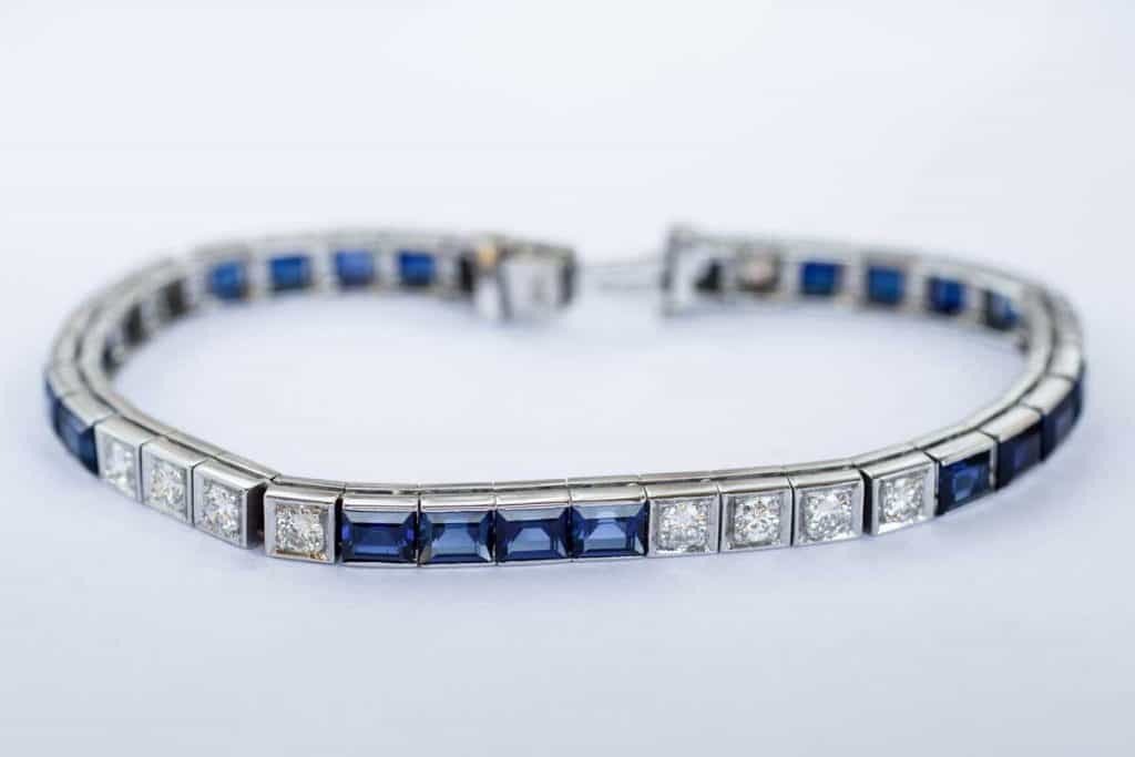 15 Gorgeous Silver Bracelets with Blue Stones