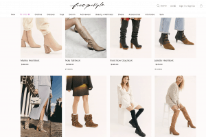 Free people page for leather boots