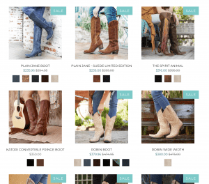 Lane boots page for leather boots