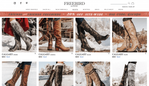 Freebird by steven page for leather boots