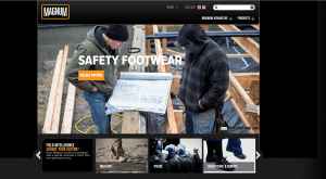 Magnum page for combat boots