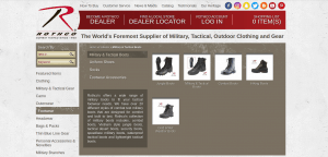Rothco page for combat boots