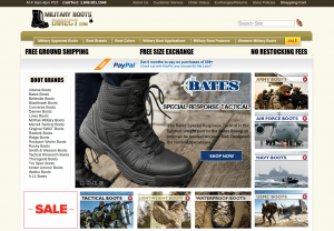 Military Boots Direct page for combat boots