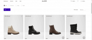 Aldo page for combat boots