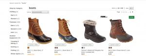 L.L Bean page for combat boots