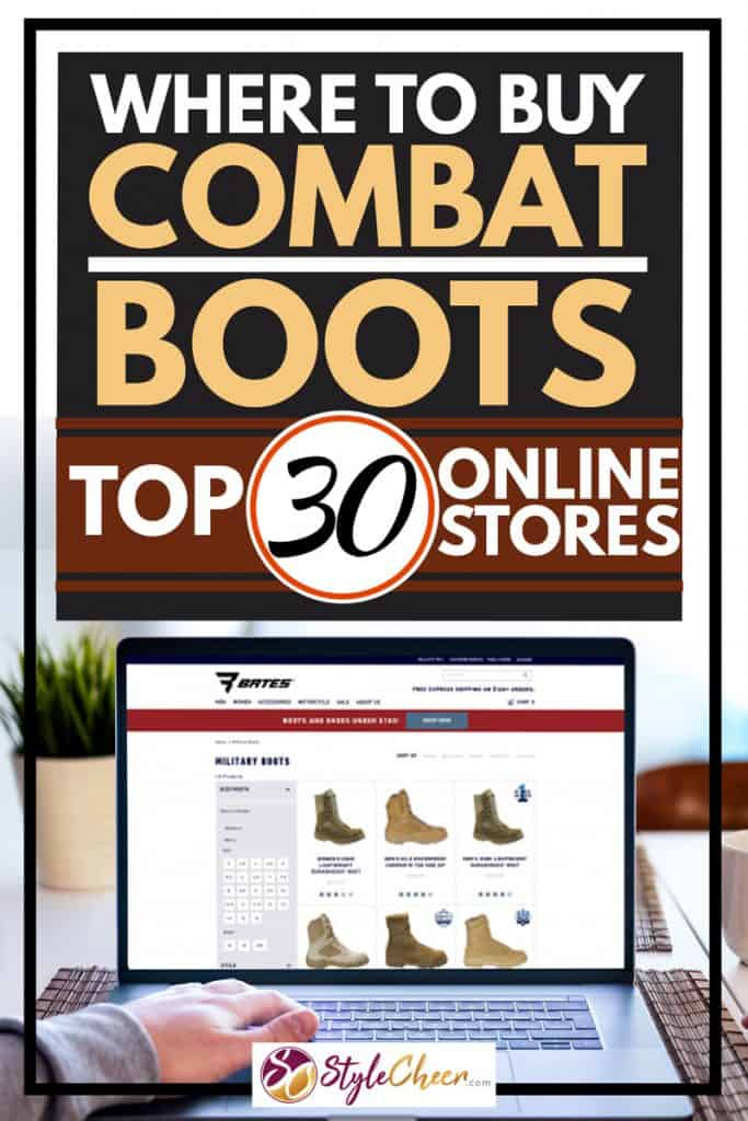 Where To Buy Combat Boots? Top 30 Online Stores