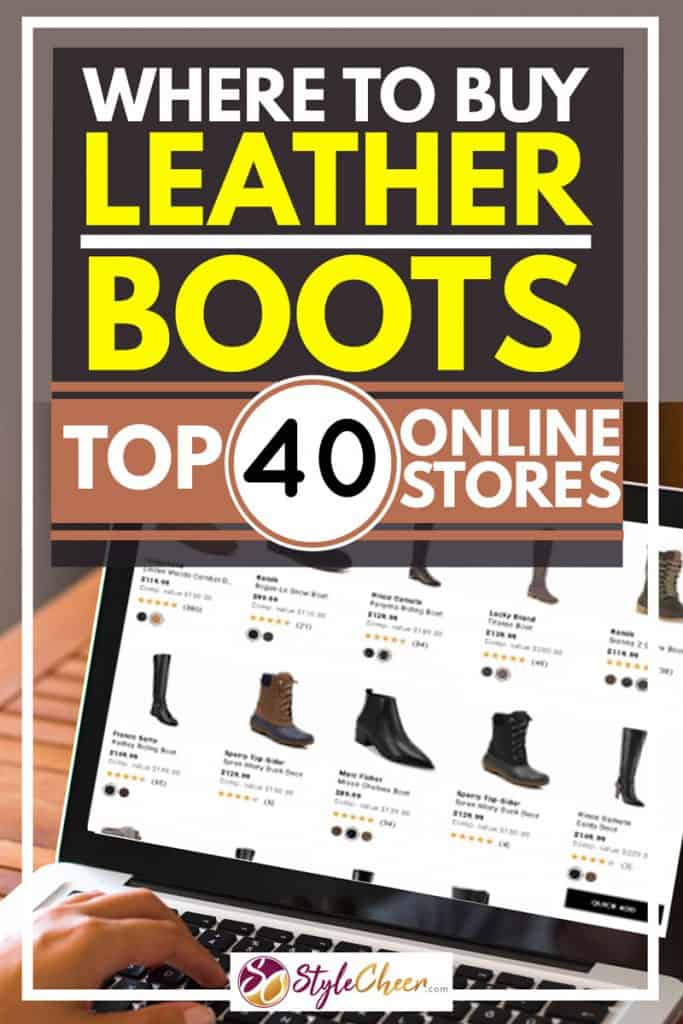 Where to Buy Leather Boots? [Top 40 Online Stores]