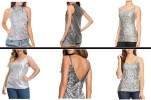10 Awesome Silver Sequin Tank Tops To Check Out