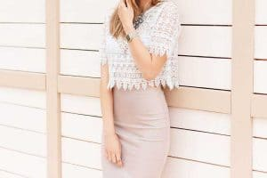 How to Wear a Lace Top [14 Easy Ideas With Pictures]