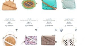 Marshalls page for crossbody bags