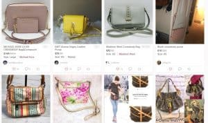 Poshmark page for crossbody bags