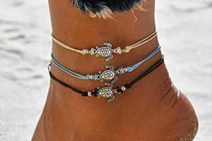 15 Gorgeous Sea Turtle Anklets for That Perfect Beach Look