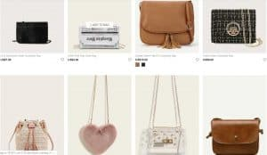 Shein page for crossbody bags