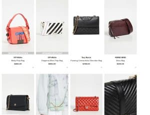 Shopbop page for crossbody bags