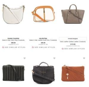 TJ Maxx page for crossbody bags