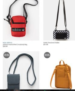 Tillys page for crossbody bags