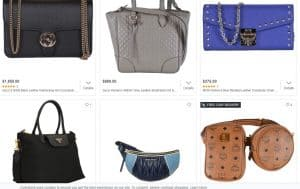 Overstock page for crossbody bags