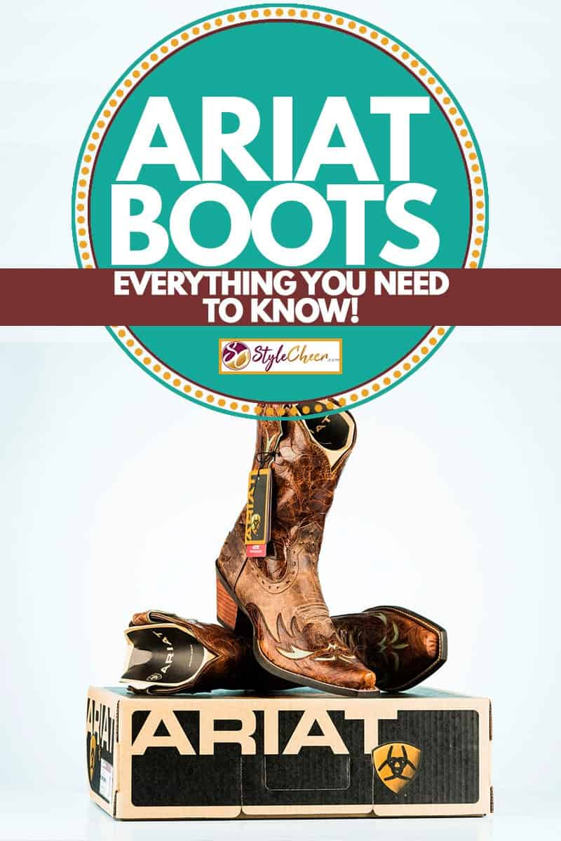 A super cool womens Ariat leather boots, Ariat Boots: Everything You Need to Know!