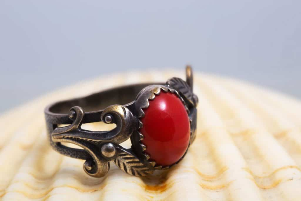 A vintage styled ring