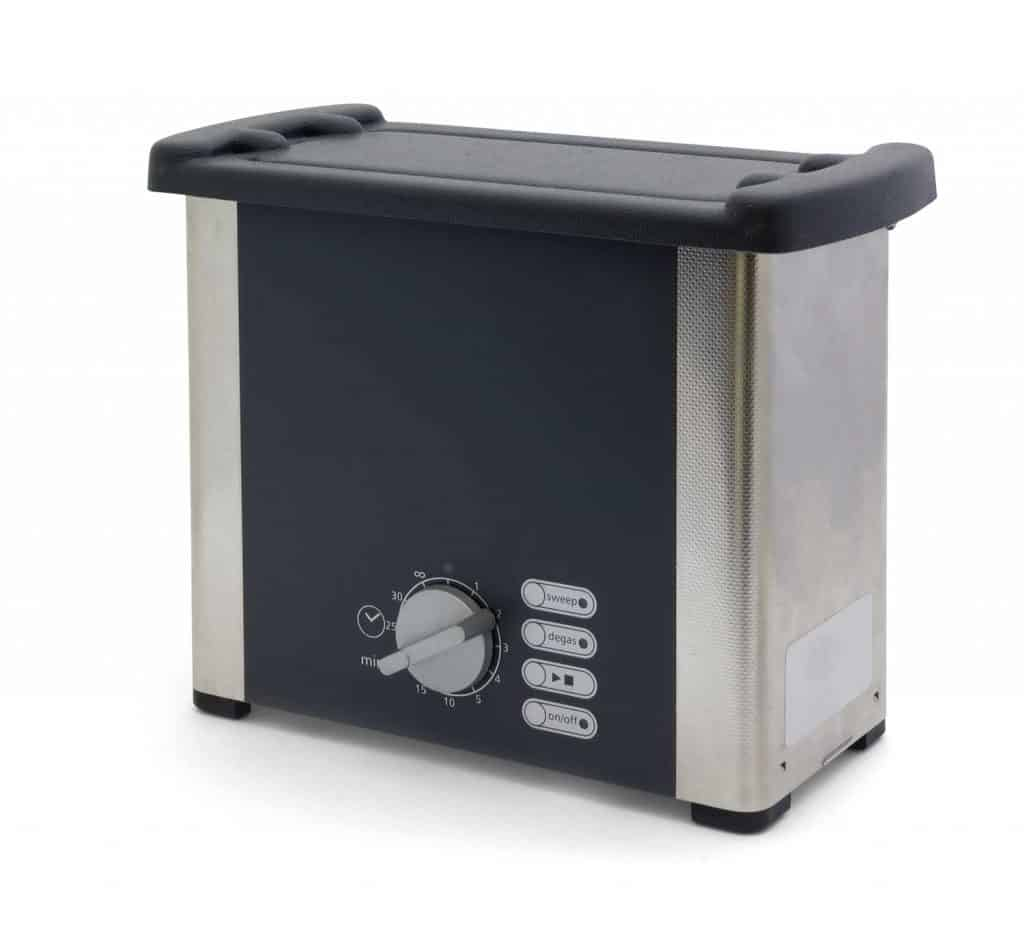 An ultrasonic cleaner isolated on white background