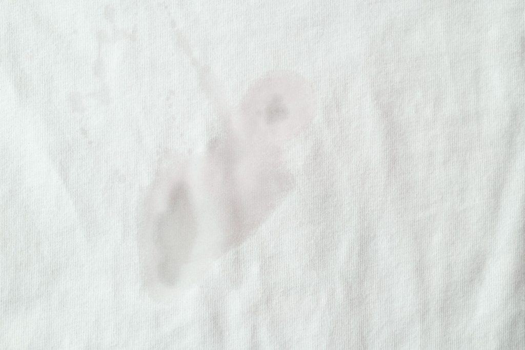 Coconut oil stain on a piece of cloth, How To Get Coconut Oil Out Of Clothes