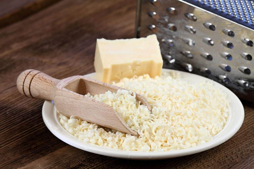 Eco friendly grated soap