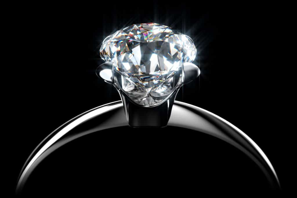 Glowing Diamond Ring