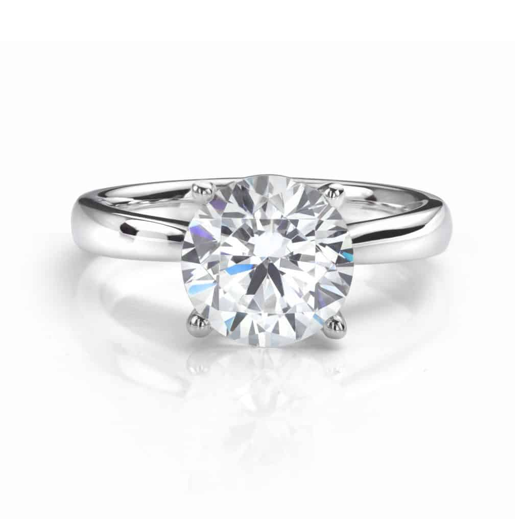 Perfect Diamond Engagement Ring with Big Diamond