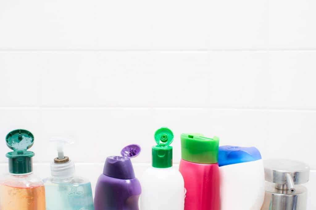 Toiletries body cleaning products