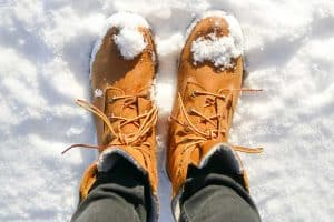 What Shoes to Wear in Snow?