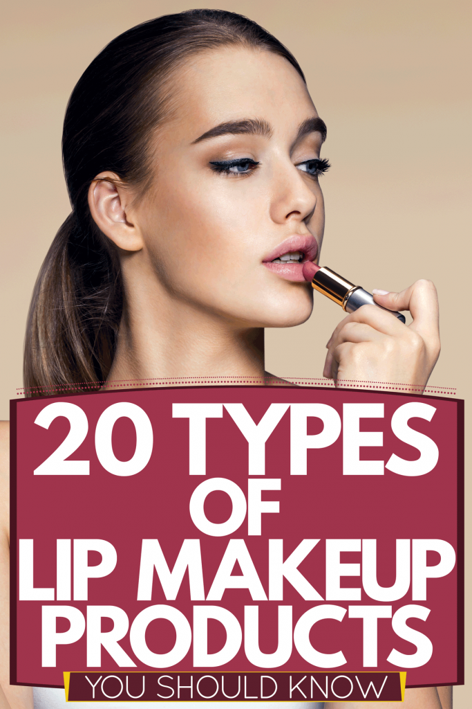 A woman putting on woman putting on different colors of lipstick, 20 Types Of Lip Makeup Products You Should Know