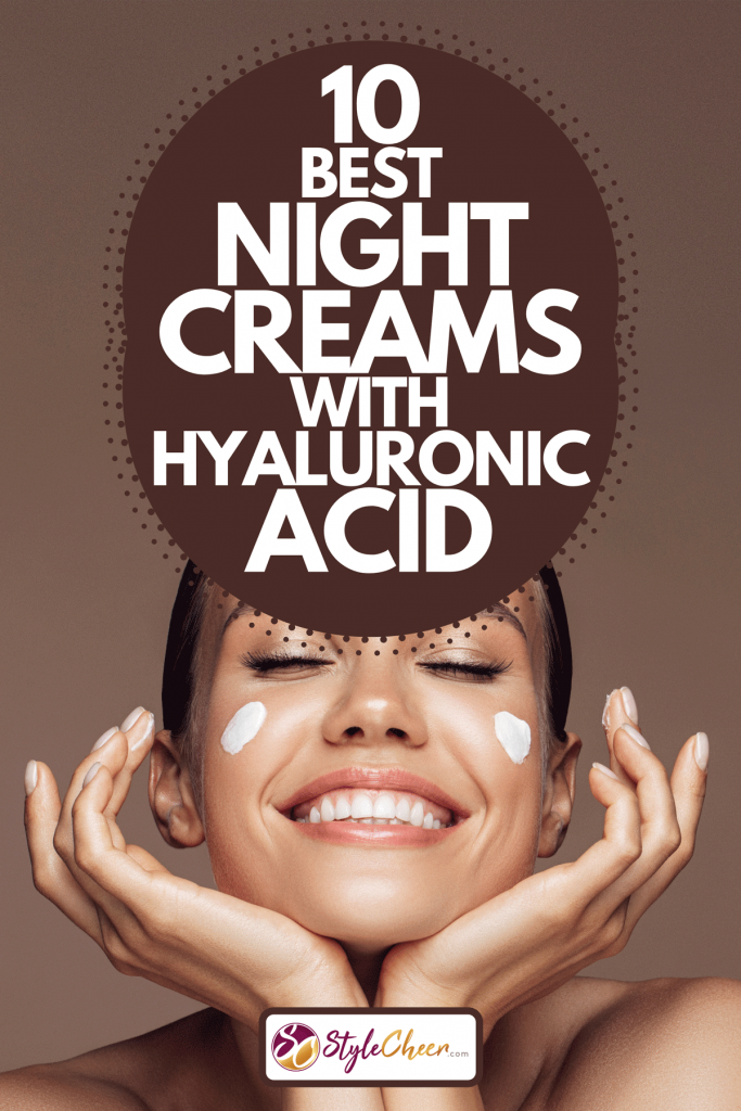 A beautiful woman applying cream on her face, 10 Best Night Creams With Hyaluronic Acid