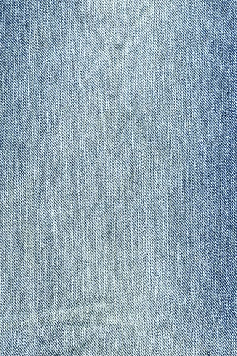 faded denim cloth close up