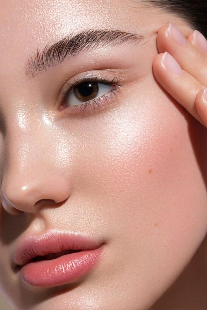 Close-up portrait of young and beautiful woman, Can You Use Hair Serum On Eyelashes Or Eyebrows?