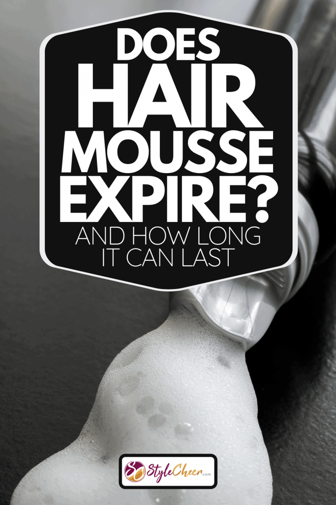 Close up of white hair styling mousse foam, Does Hair Mousse Expire? [And How Long It Can Last]