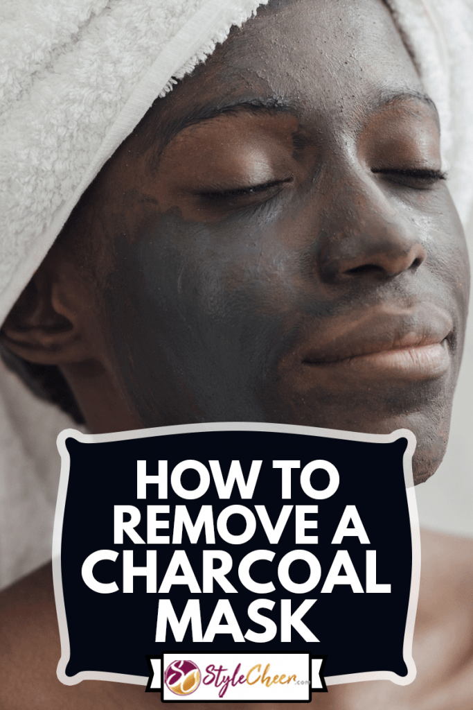 Portrait of a Woman with Charcoal Face Mask, How To Remove A Charcoal Mask