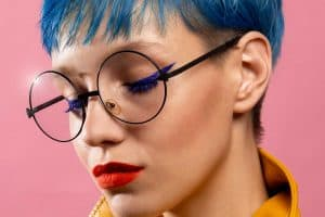 Read more about the article What Color Lipstick Goes With Blue Hair?