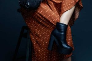 Read more about the article Can You Wear Ankle Boots With A Midi Skirt Or Dress?